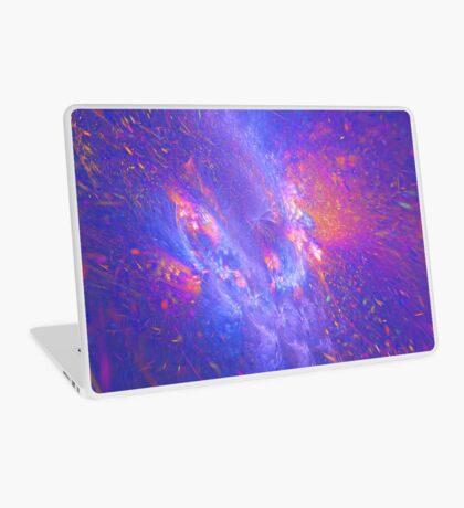 Galactic fractals Laptop Skin