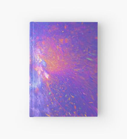 Galactic fractals Hardcover Journal