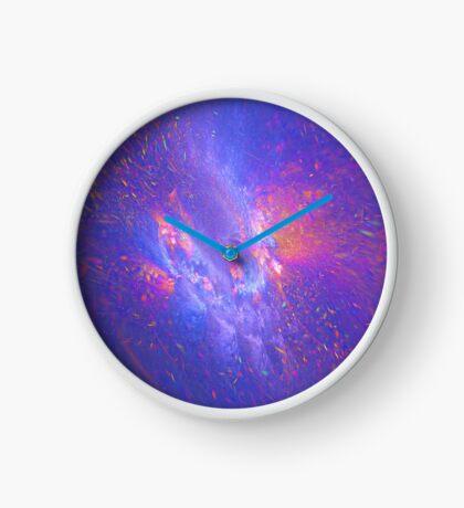 Galactic fractals Clock