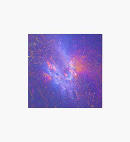 Galactic fractals Art Board Print