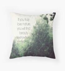 Van Gogh Nature Throw Pillow