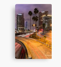 Vertical Harbor Freeway 2 Canvas Print
