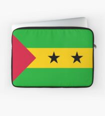 Flag of Sao Tome and Principe Laptop Sleeve