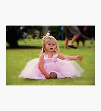 Wedding Girl Photographic Print