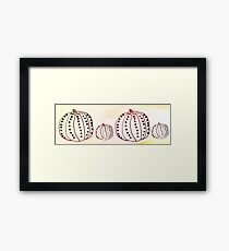 Pumpkin Love Framed Print