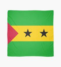 Flag of Sao Tome and Principe Scarf