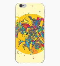 Chisinau, Moldova, Colorful Artmap iPhone Case
