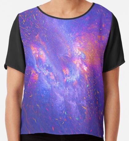 Galactic fractals Chiffon Top