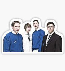 The Inbetweeners gang Sticker