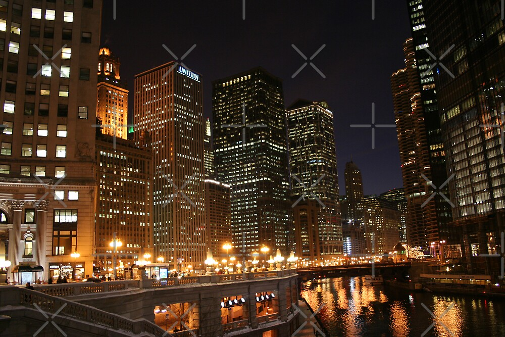 Chicago Lights by David Tate