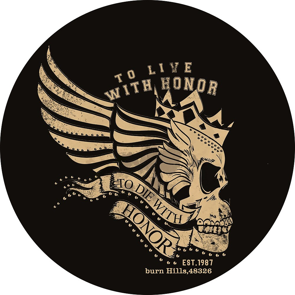 To Live With Honor - To Die With Honor, Racing design  by AmorOmniaVincit