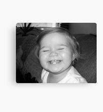 grin Canvas Print