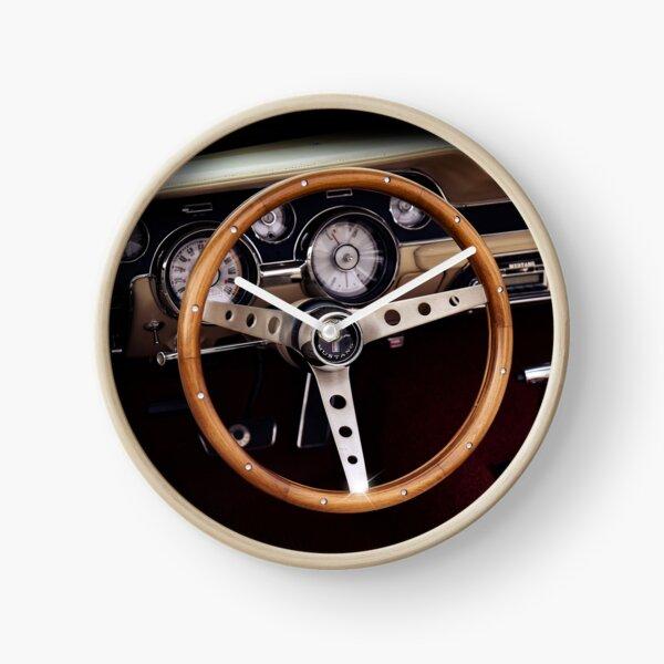 1967 Ford Mustang, steering wheel Clock