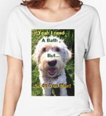 Dog Talk Women's Relaxed Fit T-Shirt