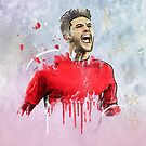 Classic Lallana by Mark White