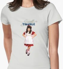 Small Wonder Womens Fitted T-Shirt