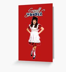 Small Wonder Greeting Card