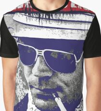 Gonzo Hunter S Thompson Graphic T-Shirt