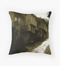 Walking The River Of Light Throw Pillow