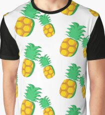 Ananas on the Summer Graphic T-Shirt