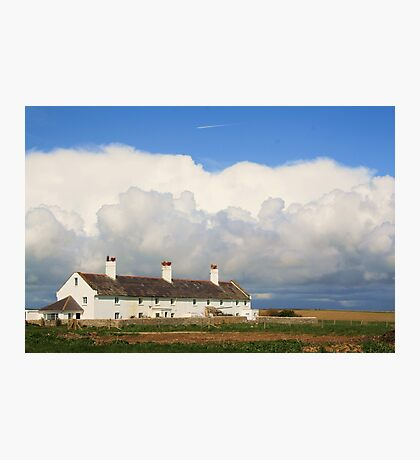 Coastguard Cottages Photographic Print