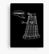 Dalek! Canvas Print