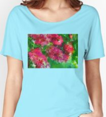Bottle Brush Abstract Women's Relaxed Fit T-Shirt