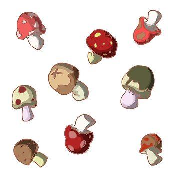 Mushroom fields by MadeleineFoley
