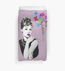 Elegance is the beauty that never fades Duvet Cover