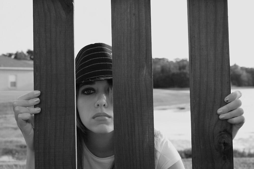 peeking through by abryant