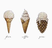 Ice-Cream Cones | Unisex T-Shirt