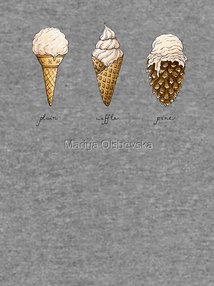 Ice-Cream Cones by OzureFlame