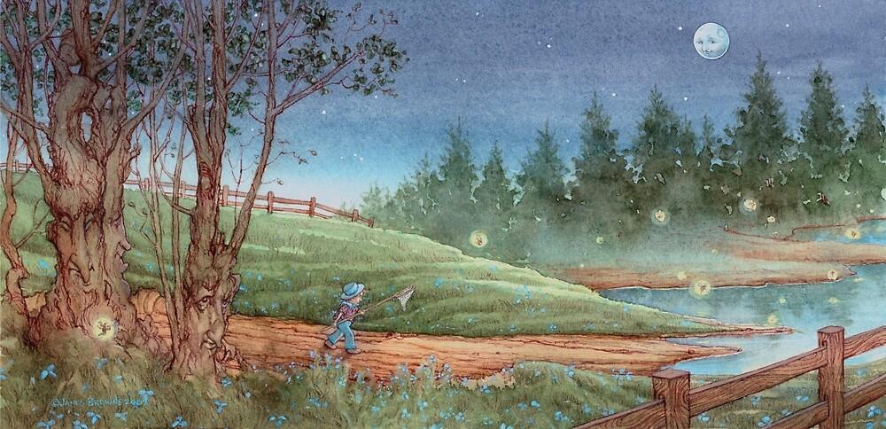 Fairy Catcher by JamesBrowneArt