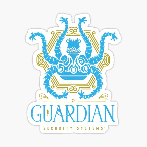 Protected by the Guardian Sticker