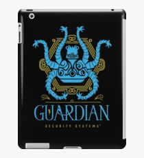 Protected by Guardian Security iPad Case/Skin