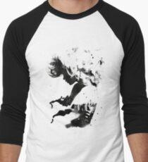 Black Cloud Men's Baseball ¾ T-Shirt