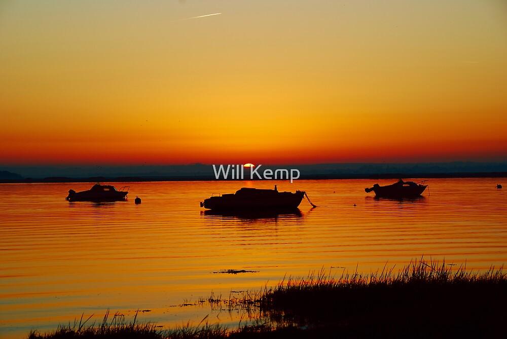 Three Boats by Will Kemp