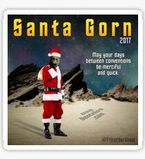 2017 Santa Gorn Design Sticker