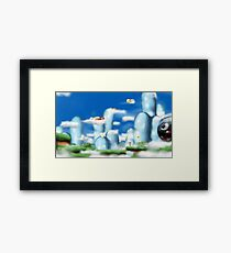 Milky Sky Framed Print