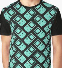 Minimal Gameboy colour Green (black) Graphic T-Shirt