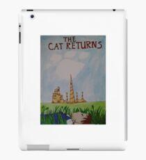 the cat returns iPad Case/Skin
