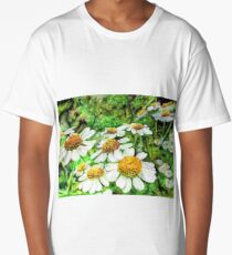 Daisies Gathering Long T-Shirt