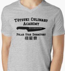 Totsuki Kulinarische Akademie - Polar Star Dormitory T-Shirt mit V-Ausschnitt