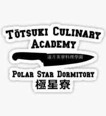 Totsuki Culinary Academy - Polar Star Dormitory Sticker