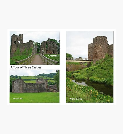 A Tour of Three Castles Photographic Print
