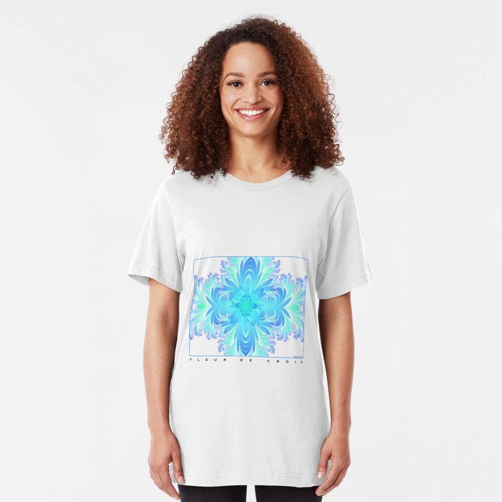 Fleur de Croix Aqua Slim Fit T-Shirt