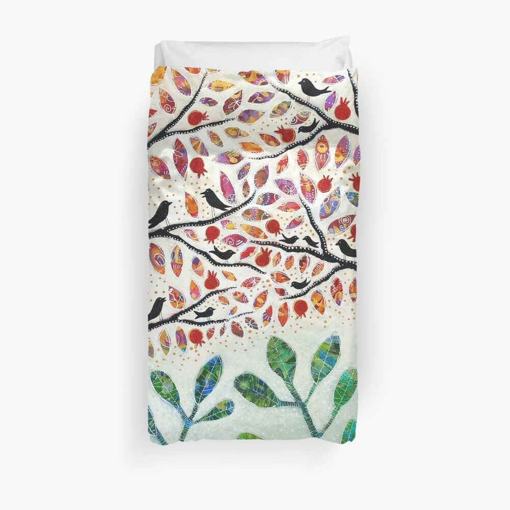 Everything Is Wonderful Duvet Cover