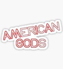 AM I A GOD Sticker