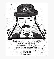 Ulysses - Man of Genius Photographic Print