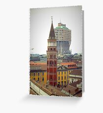 Milan Greeting Card